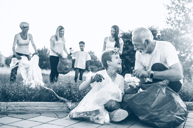 Podzimní rodinný úklid